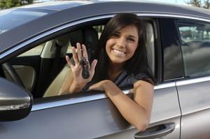 teen girl driver